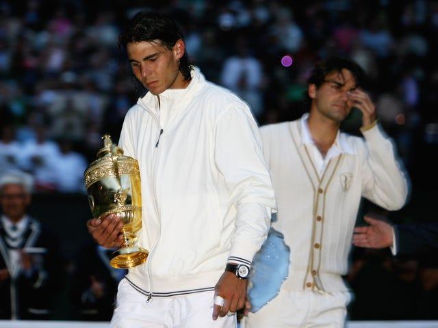 Одиннадцать лет после величайшего матча за всю историю: Федерер-Надаль Уимблдон Liveblog