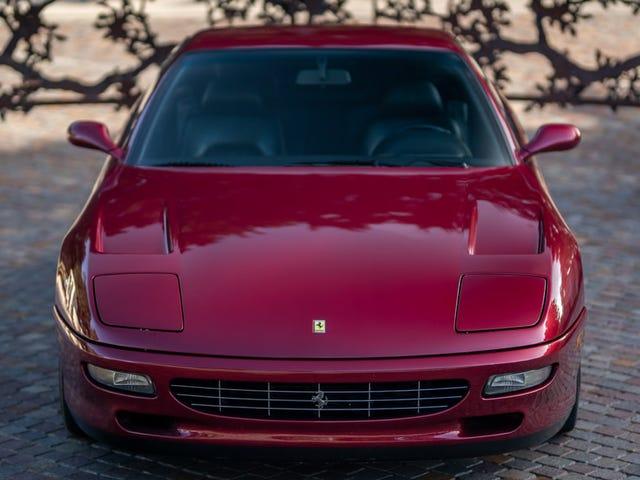 Estoy fuera, se acabó, mi cabeza da vueltas con amor por este Ferrari usado de $ 75,000