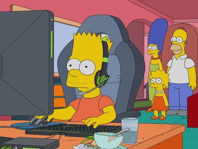 Bart's Esports career makes for an intriguing but disappointing Simpsons family journey