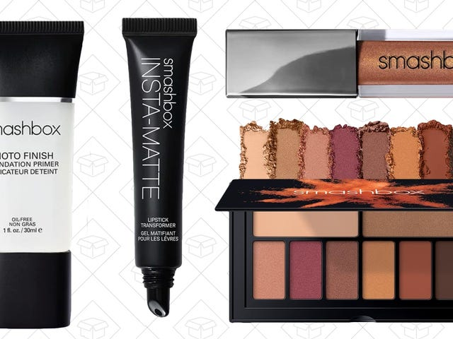 Upgrade Your Makeup Bag and Restock Favorites With $10 Off $25+ Orders From Smashbox
