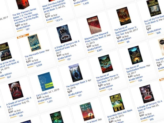 Add These Sci-Fi and Fantasy Books To Your Kindle For Less Than $5 each