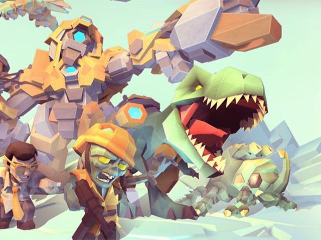 모바일 전략 게임에서 일하는 2 개의 <i>Final Fantasy</i> 전설
