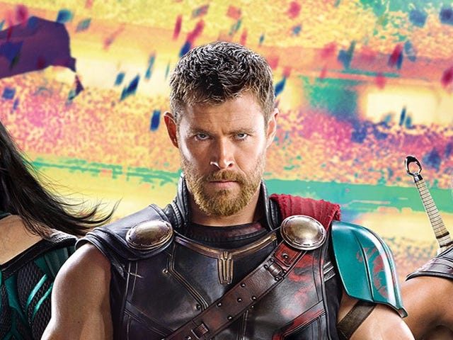 Thor's Got No Hammer and Short Hair in the First Image From Thor: Ragnarok
