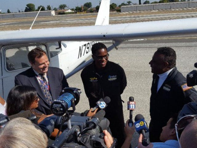 16-Year-Old Becomes Youngest Black Pilot to Fly Across Country