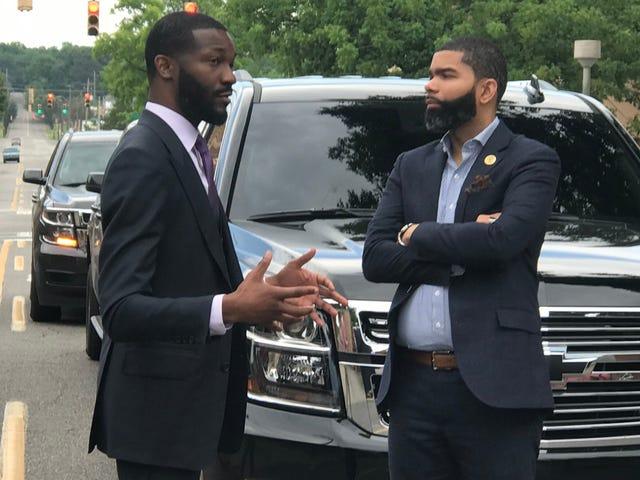 Young, Black and Progressive: Chokwe Antar Lumumba and Randall Woodfin Chop It Up in Birmingham, Ala.