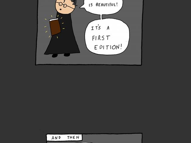 Harry Bibliophile und das Seltene Buch des Zauberers