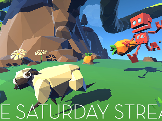 The Saturday Stream Plays <i>Grow Home, </i>A Wondrous Robot Adventure (Done!)