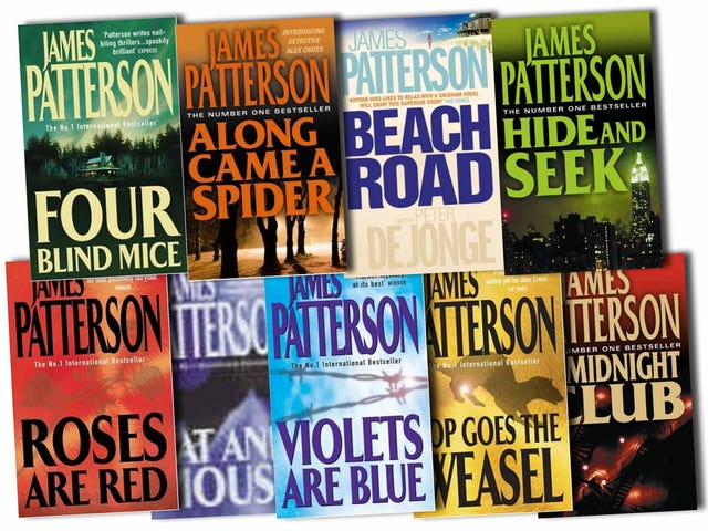 How James Patterson Helped Reinvent Publishing