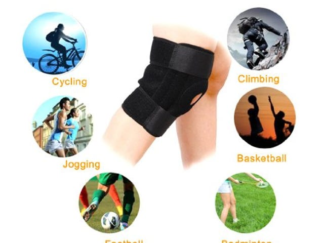 20% off Breathable Neoprene Knee Brace Support $6.39