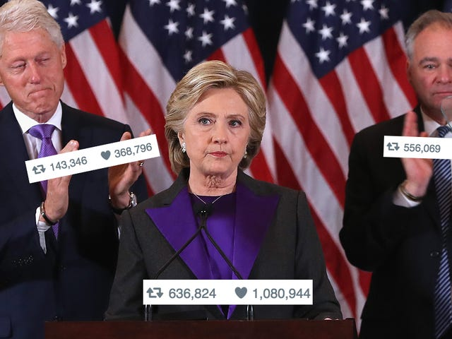 Sad Reporters Celebrate Clinton's Meaningless Twitter Victory