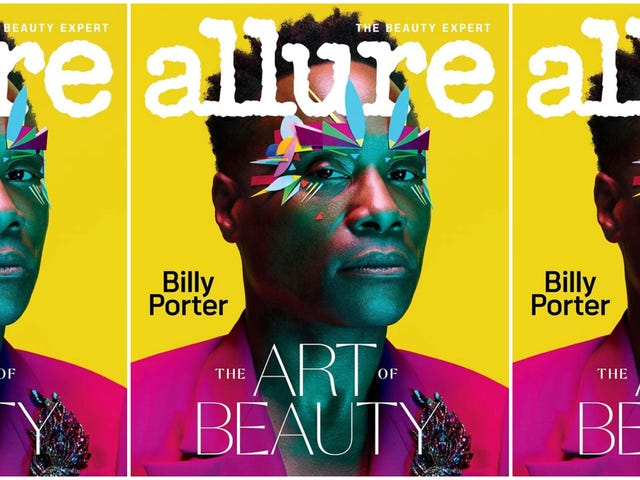 Billy Porter Just Made History as the First Man to Cover Allure. What'd You Do This Week?