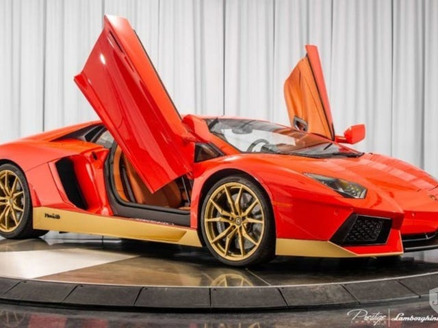 Aw yes...Lambo Aventador Miura 50th Anniversary Edition