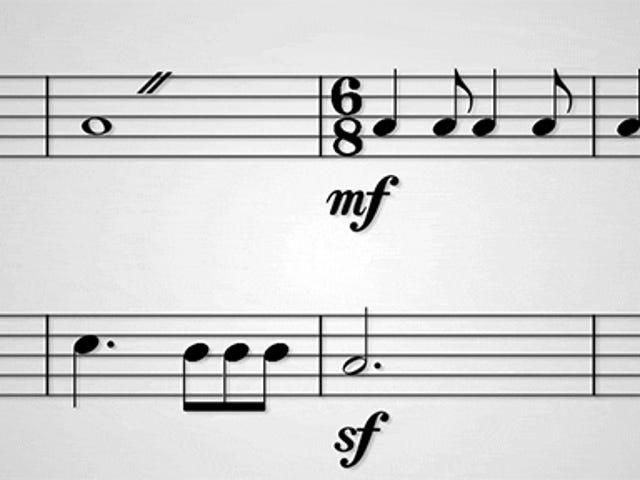Fun відео Hilariously пояснює, що всі ці випадкові символи на нотах означає