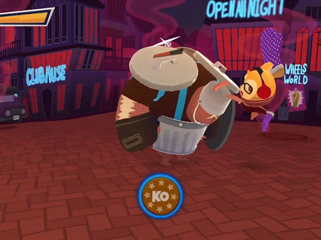 Hamsterdam Is The Perfect Name For This Bite-Sized Brawler
