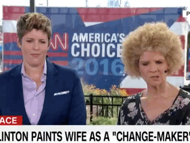 Watch This CNN Panel Try to Hold It Together When Someone Says Voting For Hillary Is Sexist
