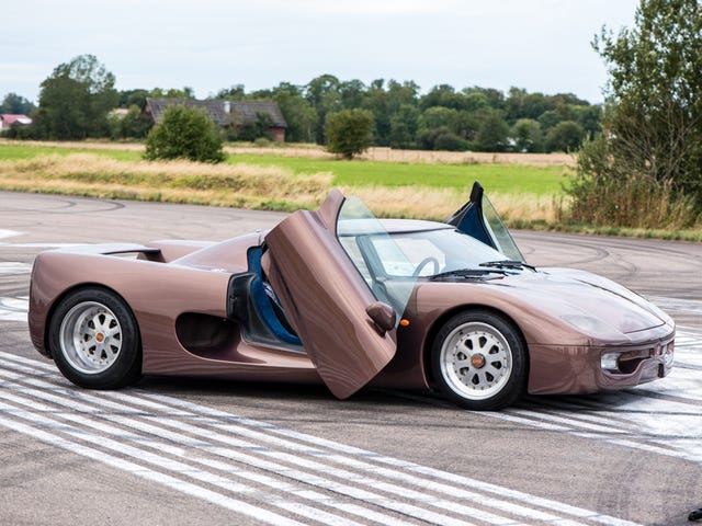 Just Listen To The Good Sound Of The Original Koenigsegg Prototype