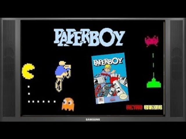 Late TAY Retro: развлекательная система Nintendo |  Разносчик газет |  Телереклама (NA)