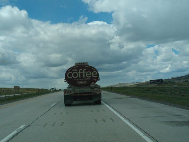 Truck stop coffee delivery