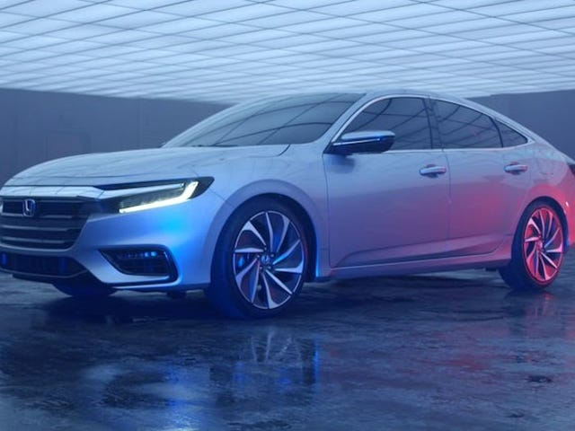 This is the 2019 Honda Insight