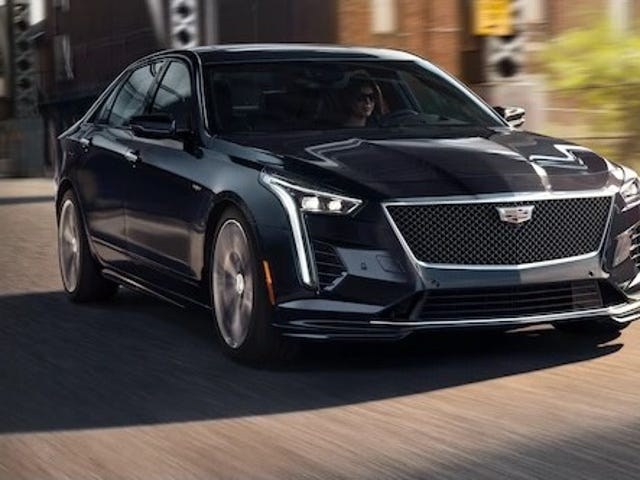 CT6-V's are being listed for sale. Except they're not