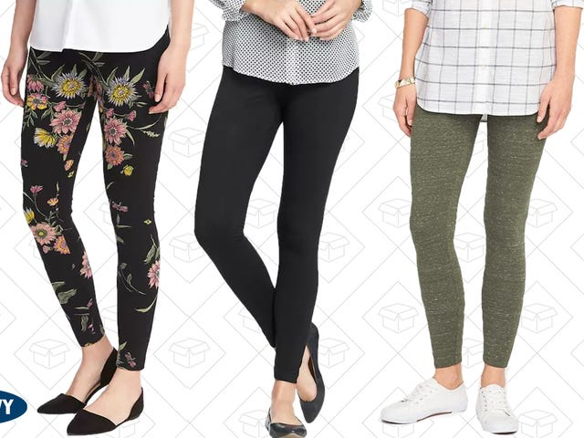 Never Wear Real Pants Again With $5 Leggings From Old Navy