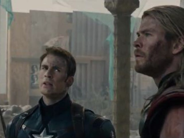 A Treasure Trove Of Behind-The-Scenes Avengers: Age Of Ultron Goodness