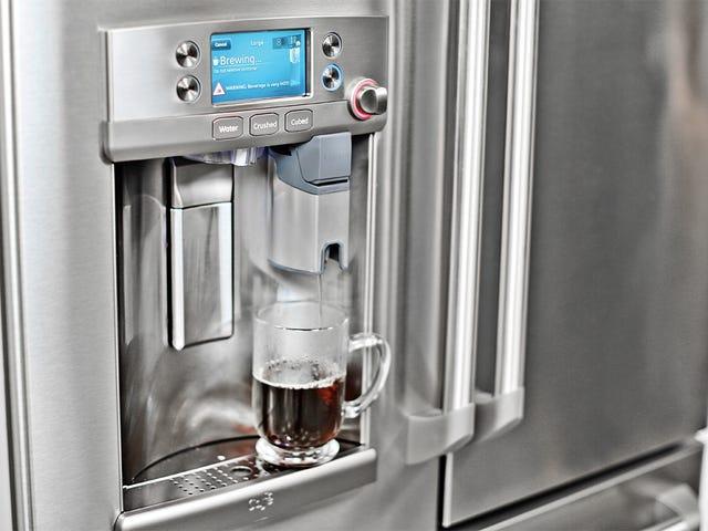 通用电气的新冰箱里有一台Keurig咖啡机