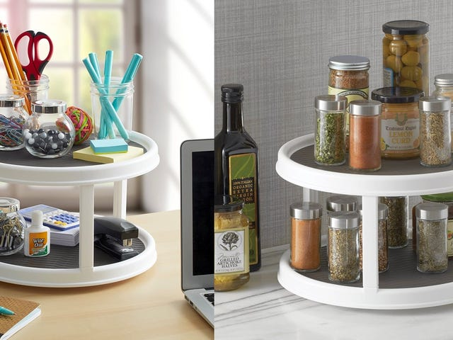 Store More Things With This $12 Lazy Susan
