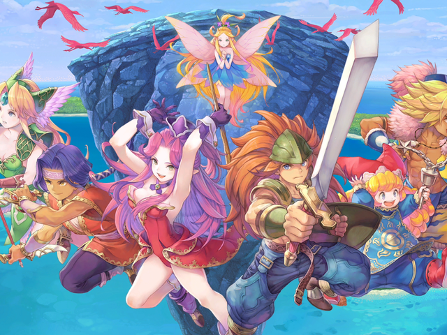 Trials Of Mana Remake Proves Square Enix kan troget göra om en klassisk 90-talets RPG