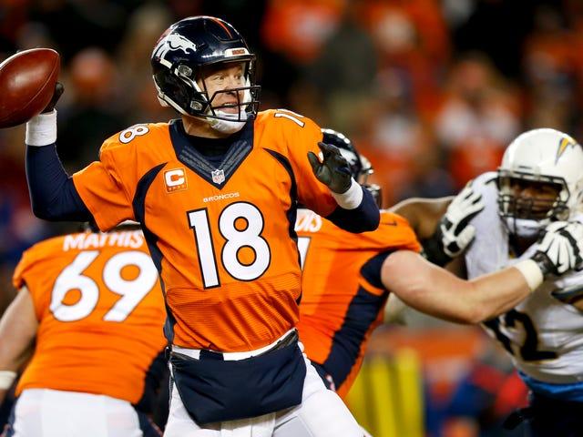 Les broncos sont encore une fois Peyton Manning