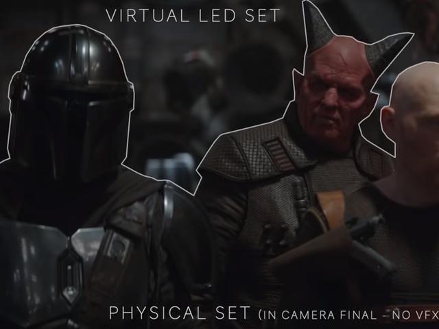 Как ILM и Epic Games создали виртуальные декорации для первого сезона мандалорцев