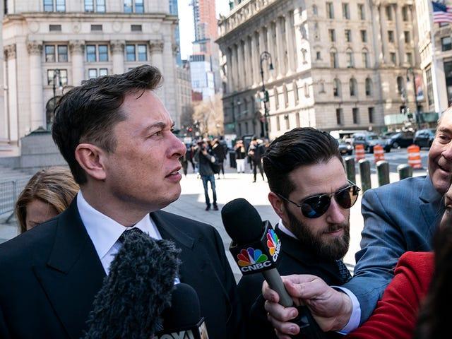 El juez se niega a mantener a Elon Musk en desacato por ahora, ordena a SEC y Musk que se reúnan como adultos