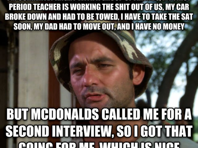 I have to re-interview for my job...sigh...(Update: Failed?)