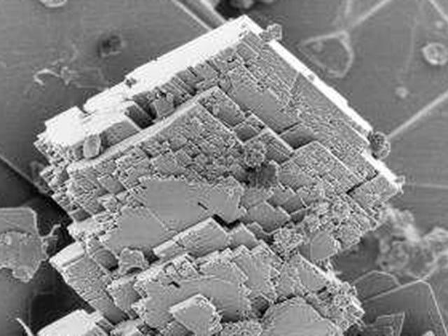 Ang pag-uugali ng mga produkto ay nakabuo ng isang maliit na mineral na nakukuha ng CO2 de la atmósfera <em></em>