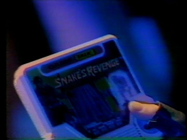 Late TAY Retro: Tiger Electronic Toys | Snake's Revenge | TV Commercial (NA)