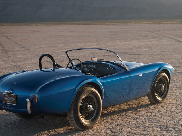 The Very First Shelby Cobra Just Sold For A Staggering Record $13.75 Million