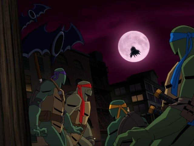 Darren Criss and Rachel Bloom to lead<i>Batman Vs. Teenage Mutant Ninja Turtles </i>animated film<em></em>