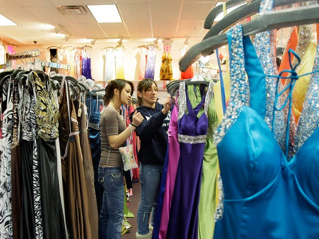 Prom Is Allegedly Getting Cheaper