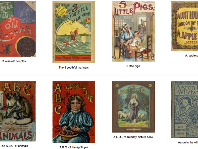 Check Out This Free Digital Collection of 6,000 19th-Century Children's Books