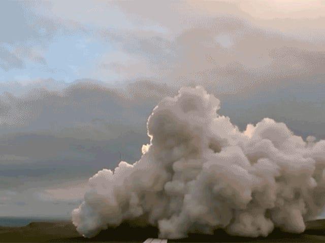 De schattige raket van Rocket Lab is net voor de eerste keer in de ruimte gestoten