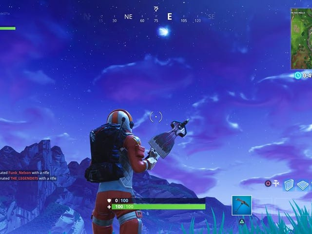 There's A Comet In Fortnite, And Players Have Wild Theories About What It Means
