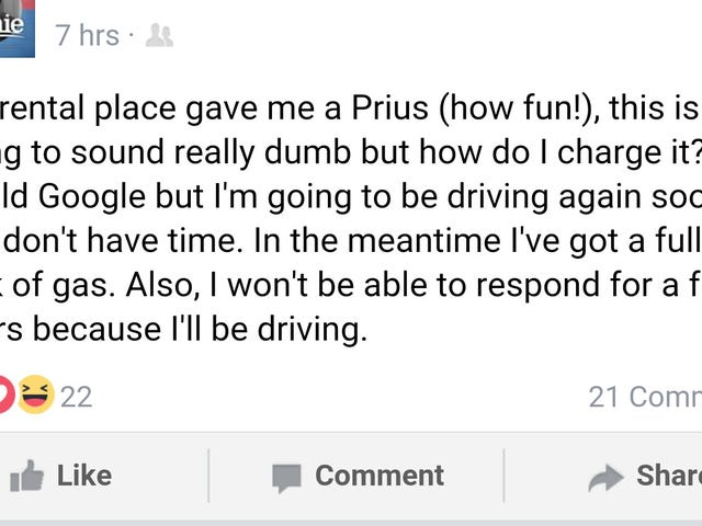 A Prius, How Fun!