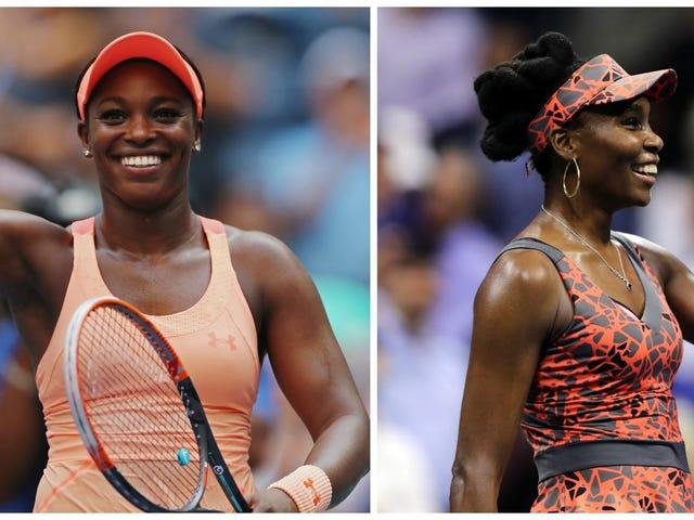 #BlackGirlMagic: ABD Açık Bayanlar Tekler Yarı Finalleri 2 Amerikan Siyahlı Kadın Özellikli