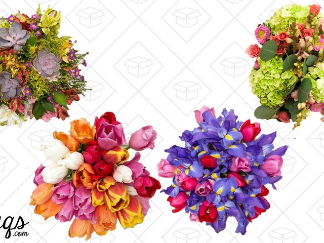 Get a Head Start On a Mother's Day Gift With 30% Off at The Bouqs