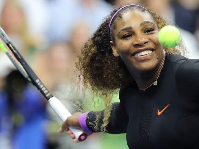 塞雷娜·威廉姆斯在美国网球公开赛半决赛中击败埃莉娜·斯维托利纳后,瞄准了打造网球历史的机会