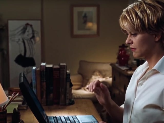 All apologies to Nora Ephron: You've Got Mail is an Orwellian nightmare