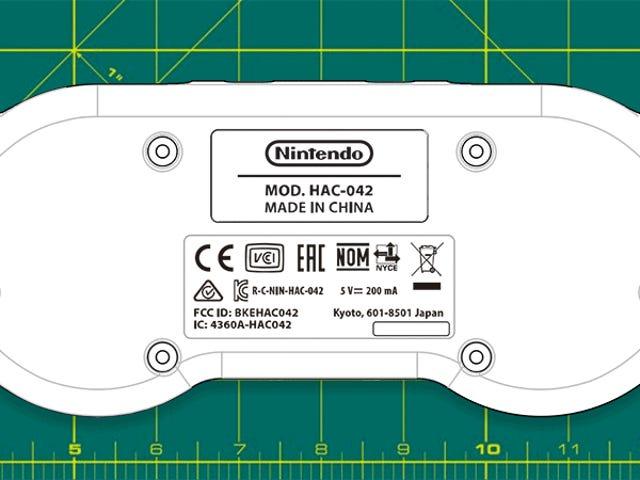 Nintendo registra la patente de un mando de SNES inalámbrico para la Switch