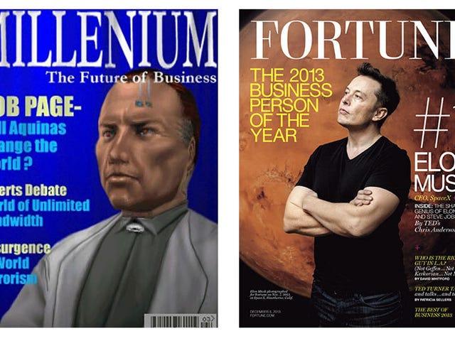 Интернет согласен с тем, что Элон Маск - злодей из Deus Ex, а не Джей Си Дентон