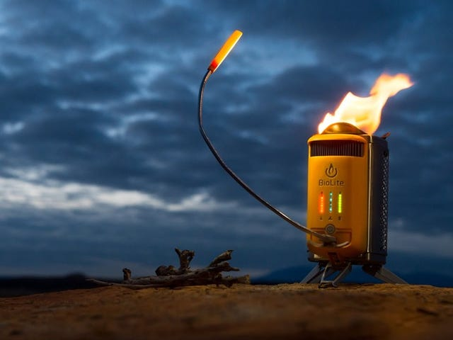 Save $26 On the Camp Stove That Starts Itself, and Charges Your Phone By Burning Sticks