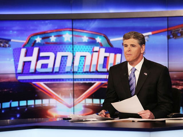 Sean Hannity Is a Lying, Sick Sack of Stupid